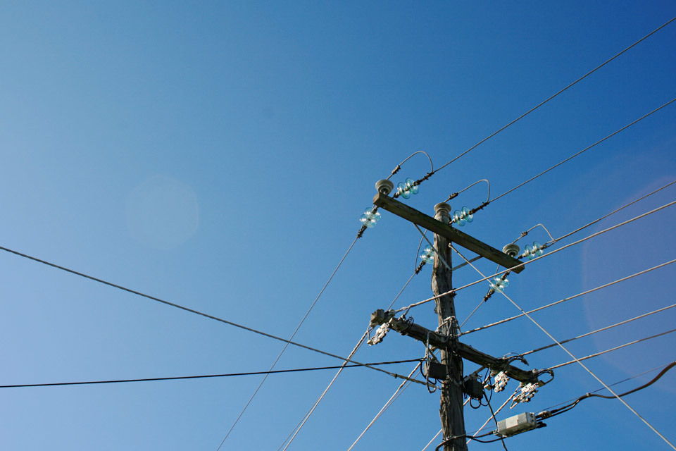 Telephone Wires, Australia.