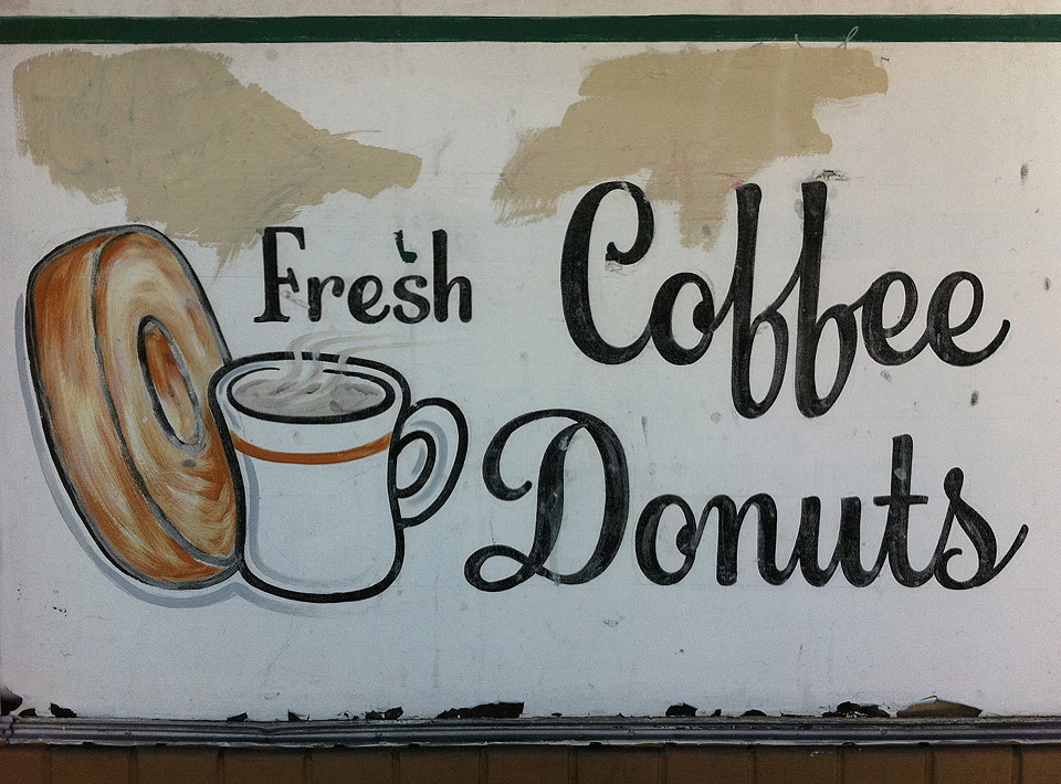 Fresh Coffee Donuts, San Francisco.