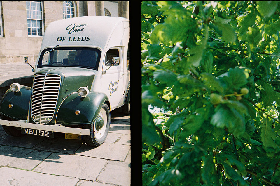 York, taken with my Olympus Pen EE half-frame camera.