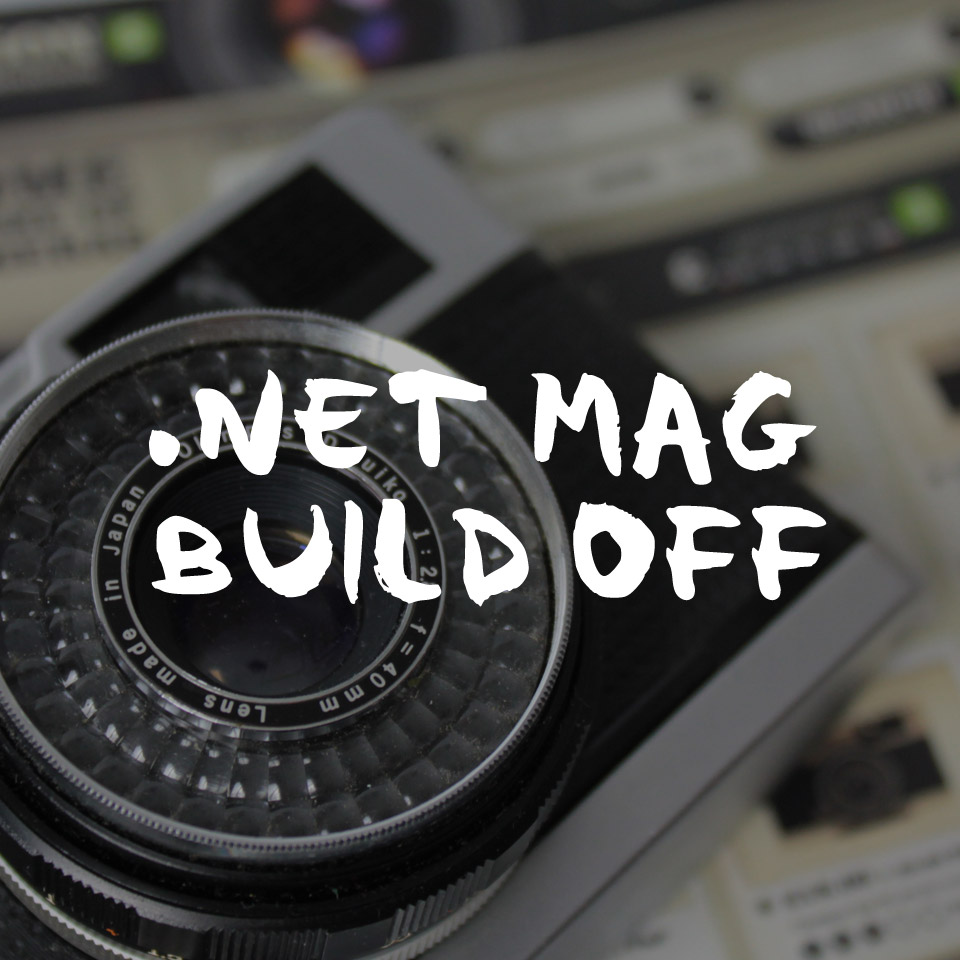.NET MAGAZINE - BUILD OFF