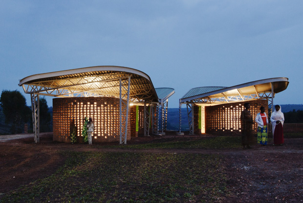 Womens' opportunity centre in Rwanda by Sharon Davis. Photo credit Sharon Davis