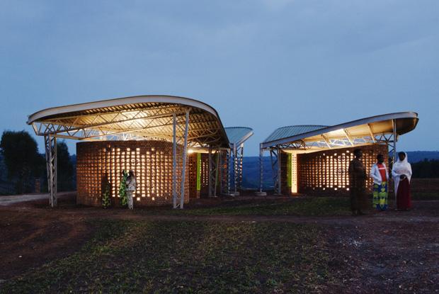 Womens' opportunity centre in Rwanda by Sharon Davis. Photo credit Sharon Davis