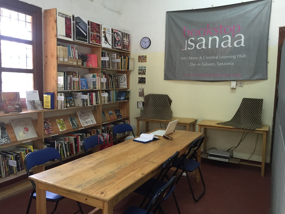 ANZA 5 workshop space, Bookstop Sanaa at Nafasi Art space, Mikocheni Dar es salaam