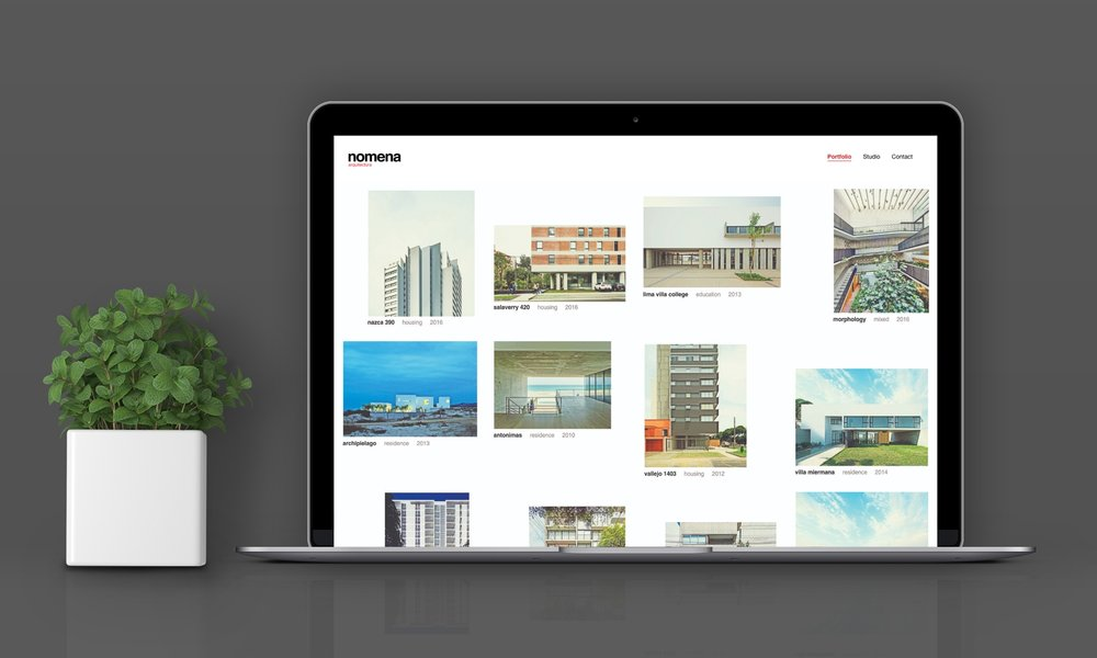 Nómena - Una web para mostrar una visión