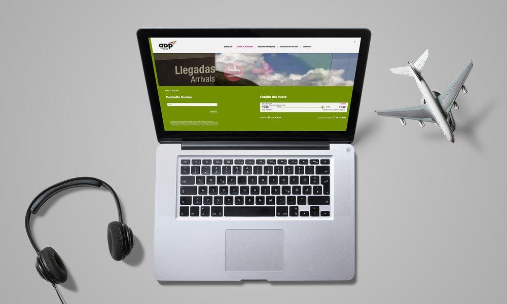 AdP Web - 12 aeropuertos, una experiencia digital