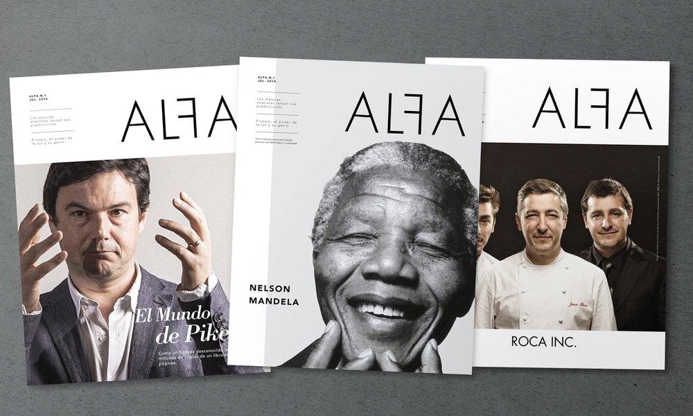 Alfa - Un contenido de alto valor para el lector