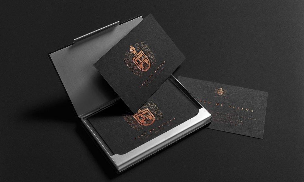 Casa Aliaga - Una familia. 500 años de historia. Un logo.