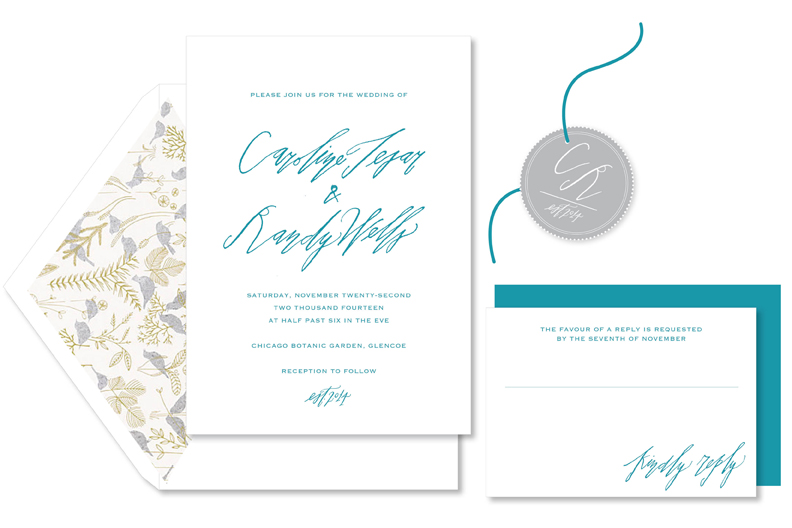 chicago wedding invitations
