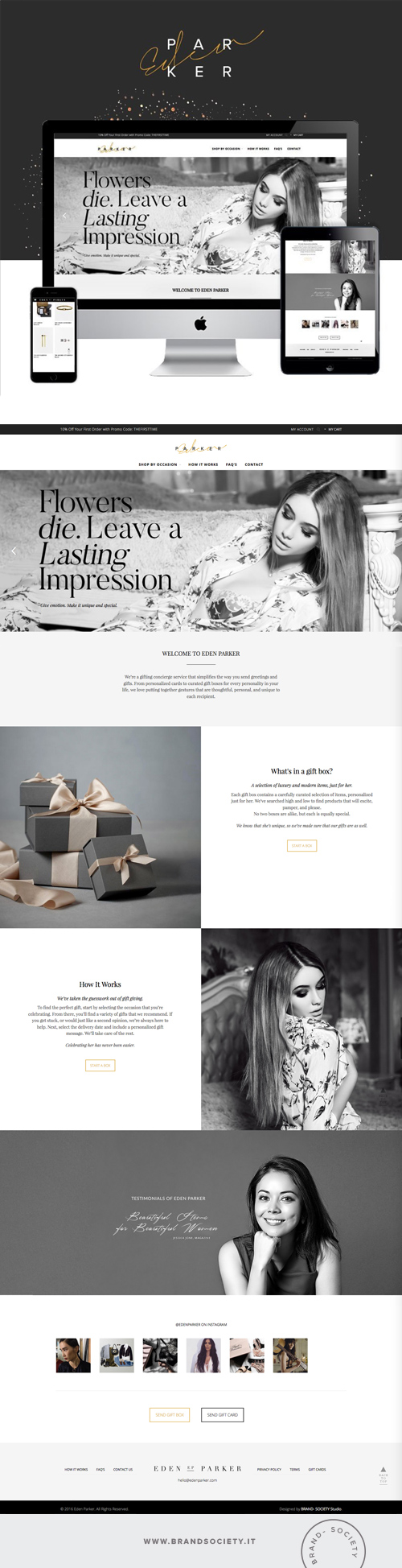 EDEN PARKER    SERVICES  || WORDPRESS WEBSITE | ECOMMERCE | BRANDING | COLOR PALETTE