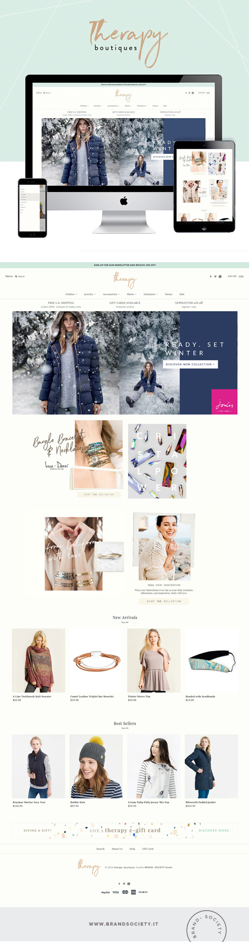 THERAPY BOUTIQUE    SERVICES  || SHOPIFY WEBSITE | ECOMMERCE | BRANDING | COLOR PALETTE