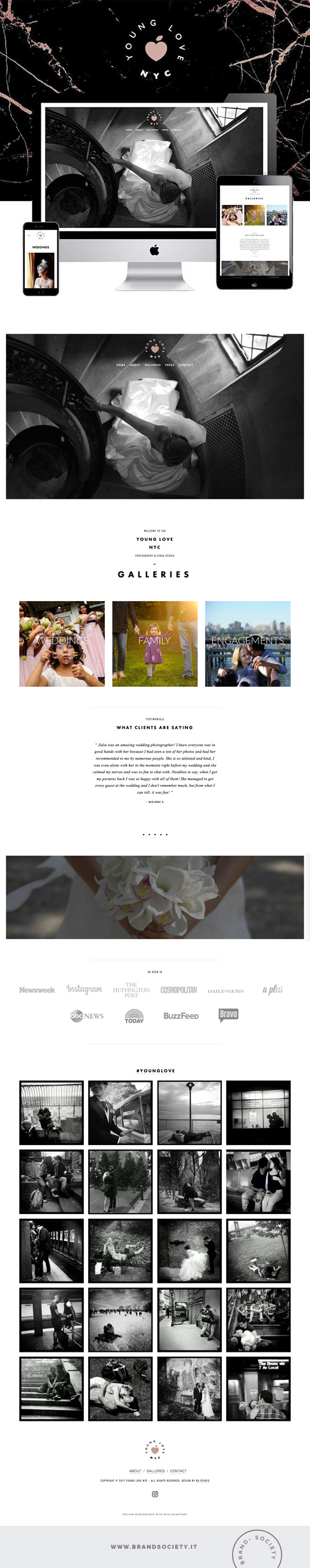 YOUNG LOVE    SERVICES  || SQUARESPACE WEBSITE | BRANDING | PORTFOLIO DESIGN | COLOR PALETTE