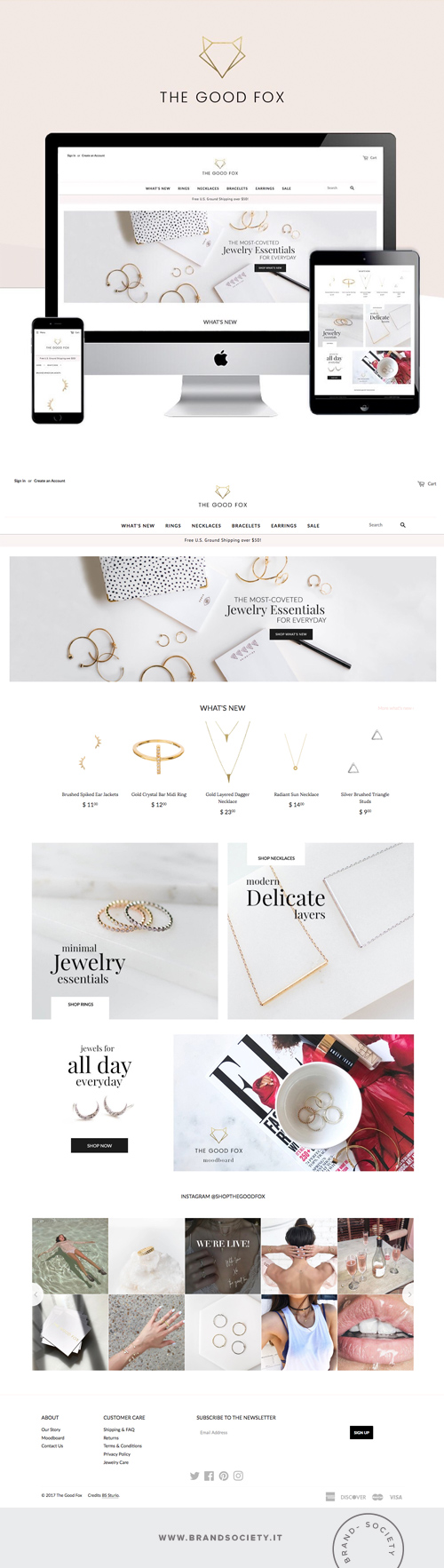 THE GOOD FOX    SERVICES  || SHOPIFY WEBSITE | BRANDING | STORE DESIGN | COLOR PALETTE