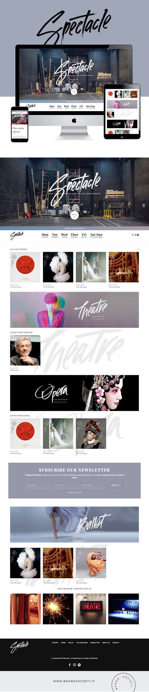 SPECTACLE MAGAZINE    SERVICES  || SQUARESPACE WEBSITE | MAGAZINE DESIGN | COLOR PALETTE