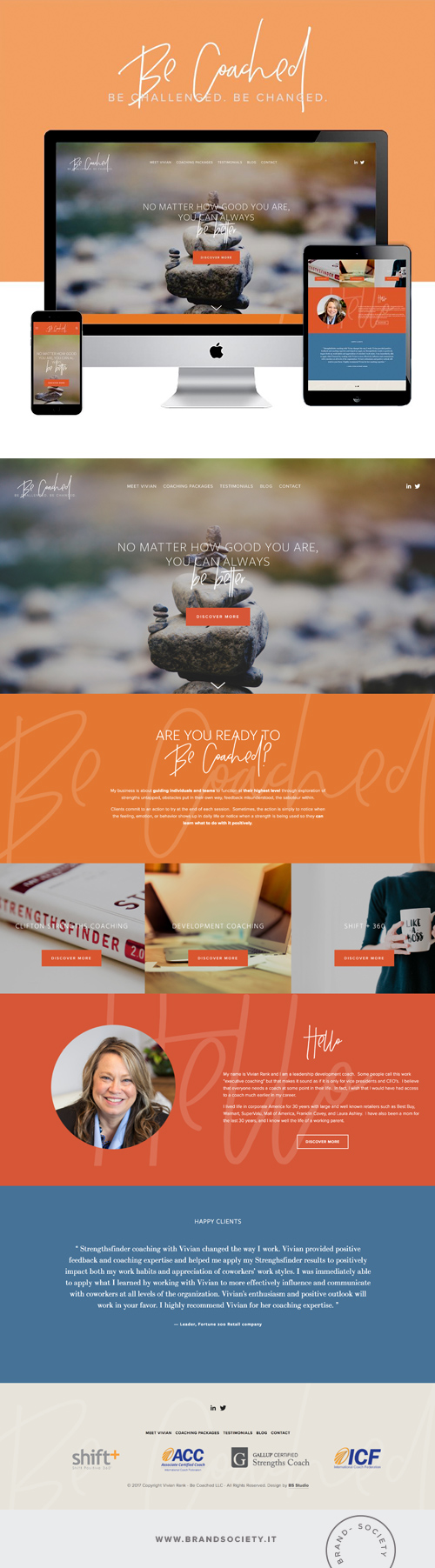 BE COACHED    SERVICES  || SQUARESPACE WEBSITE | BRANDING | CORPORATE DESIGN | COLOR PALETTE