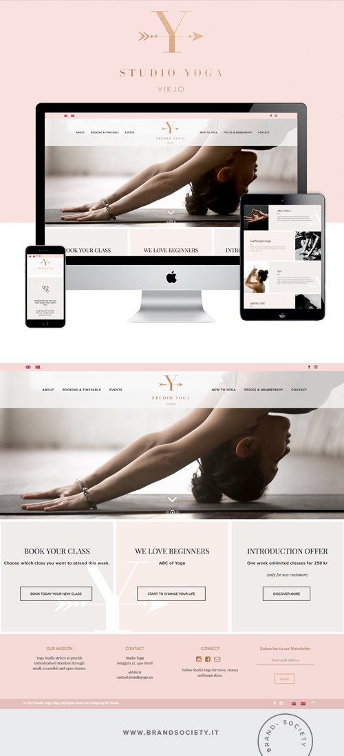 STUDIO YOGA    SERVICES  || WORDPRESS WEBSITE | EVENT DESIGN | COLOR PALETTE