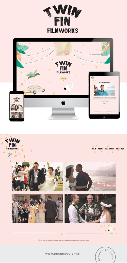 TWIN FIN FILMWORKS    SERVICES  || SQUARESPACE WEBSITE | PORTFOLIO DESIGN | COLOR PALETTE