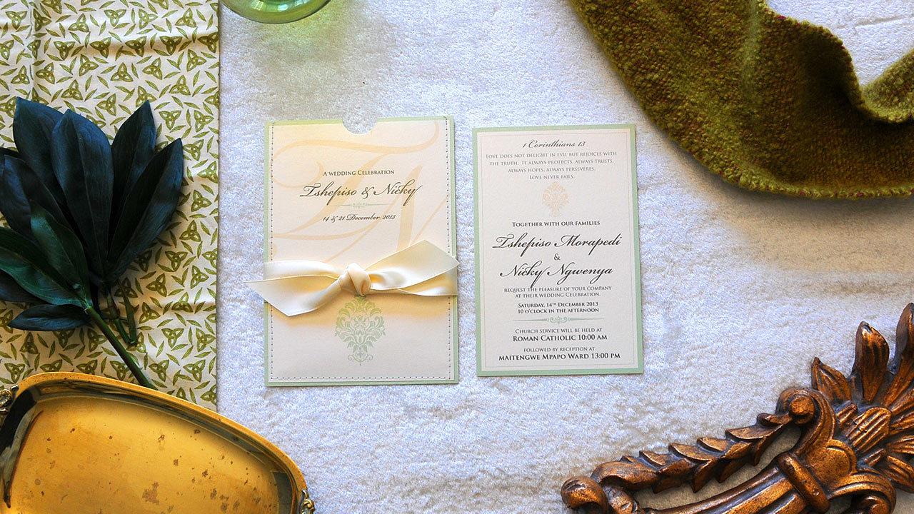 Johannesburg Wedding Invitations | Africa ido - Invitations #2