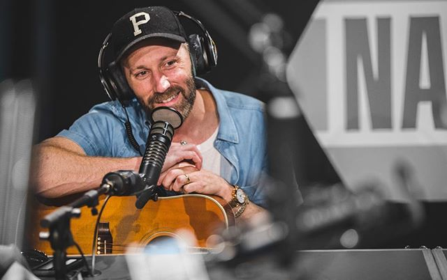 Completely geeked out over @matkearney coming in with @mrbobbybones. Been a huge fan of this guy for years!