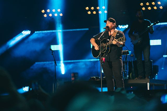 Awesome day getting to capture @lukecombs first CMA Fest stadium performance. Proud of these guys, they crushed it. Swipe ➡️