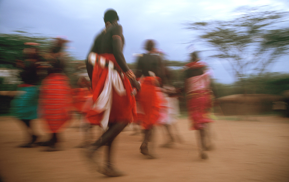 Kenya: with Samburu people