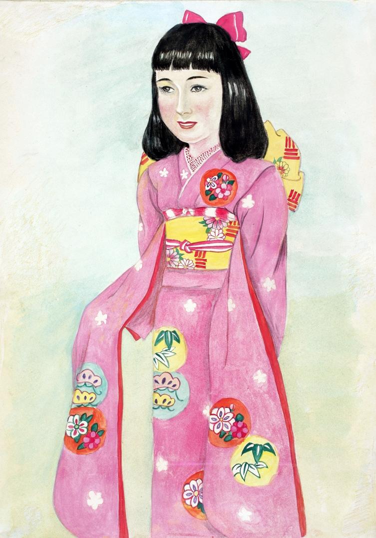 Hiroko Nakajima - girl, age 12
