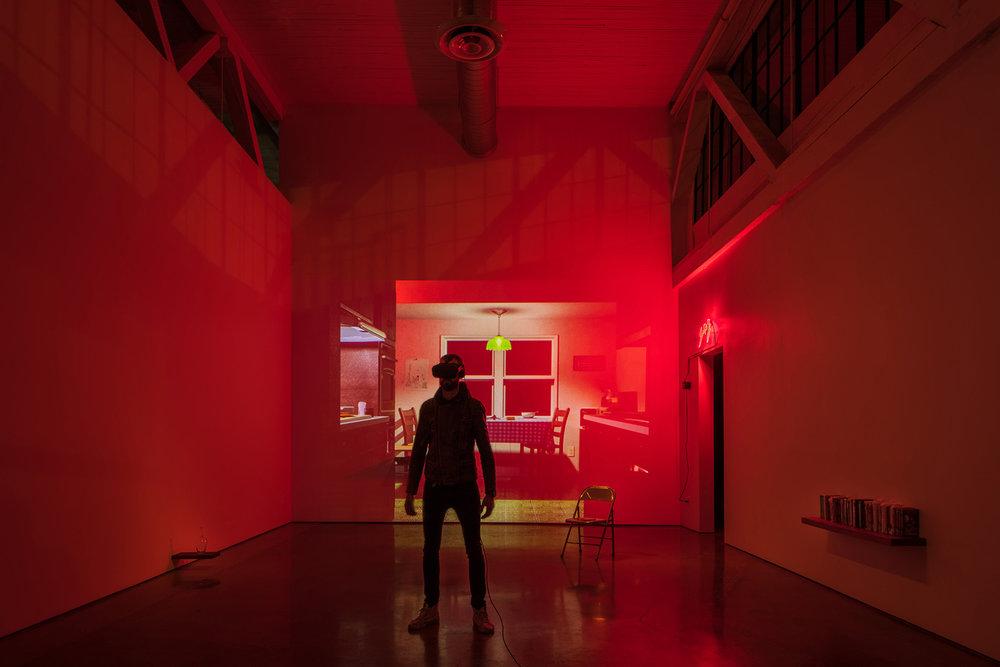 METANOIA : interactive virtual reality performance — image © 2018 Nathaniel Willson.