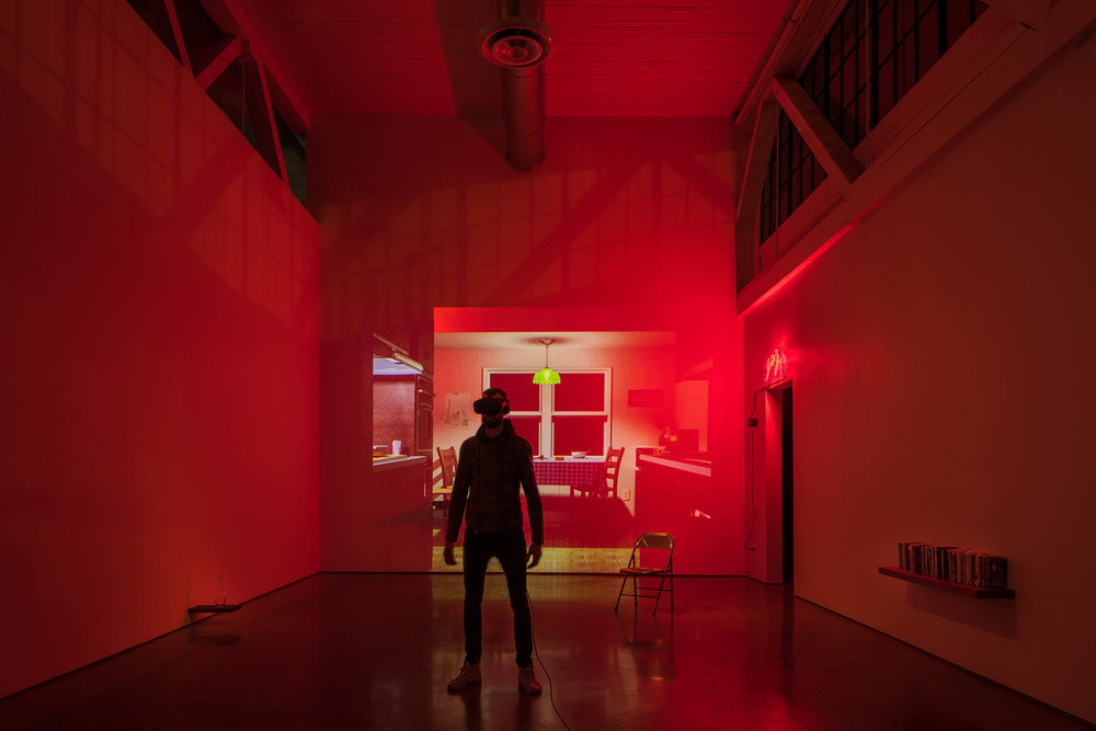 METANOIA : installation view previously exhibited at Oxbow — image © 2018 Nathaniel Willson.