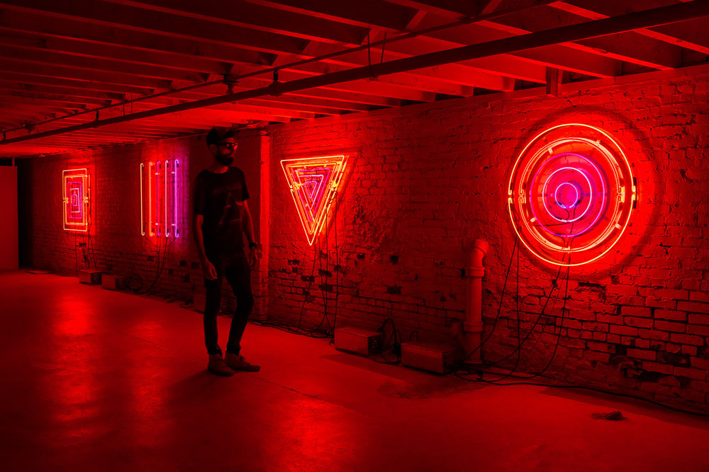 BIOGRAPHY - Contemporary artist working with light, space, and interactive technologies born in 1977. Creative Director at Western Neon and Executive Director at Western Neon School of Art in Seattle, Washington.