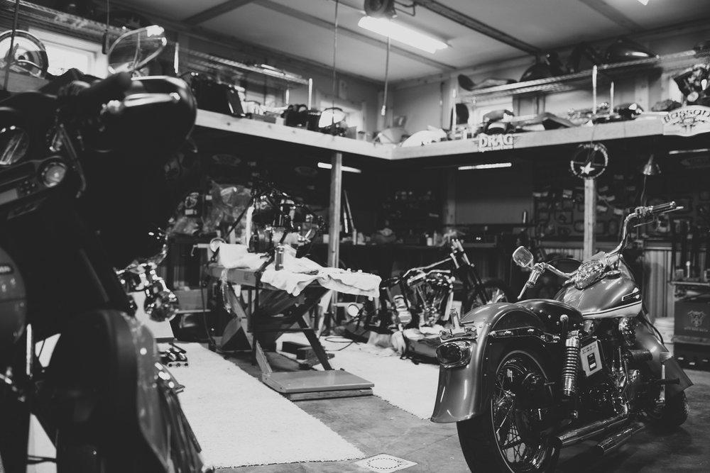 Dark Alley Cycle Shop