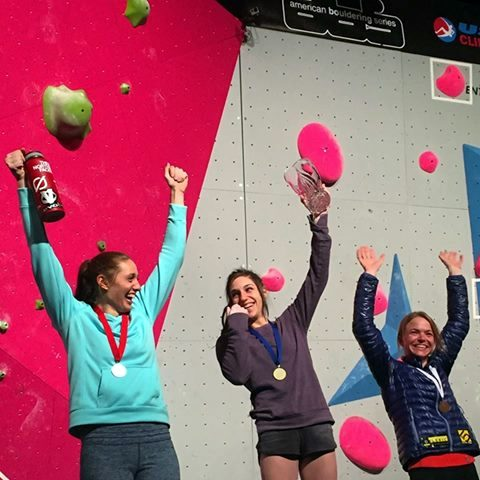 Johnson, Puccio, Payne. 2015 ABS Nationals Podium, Madison, WI