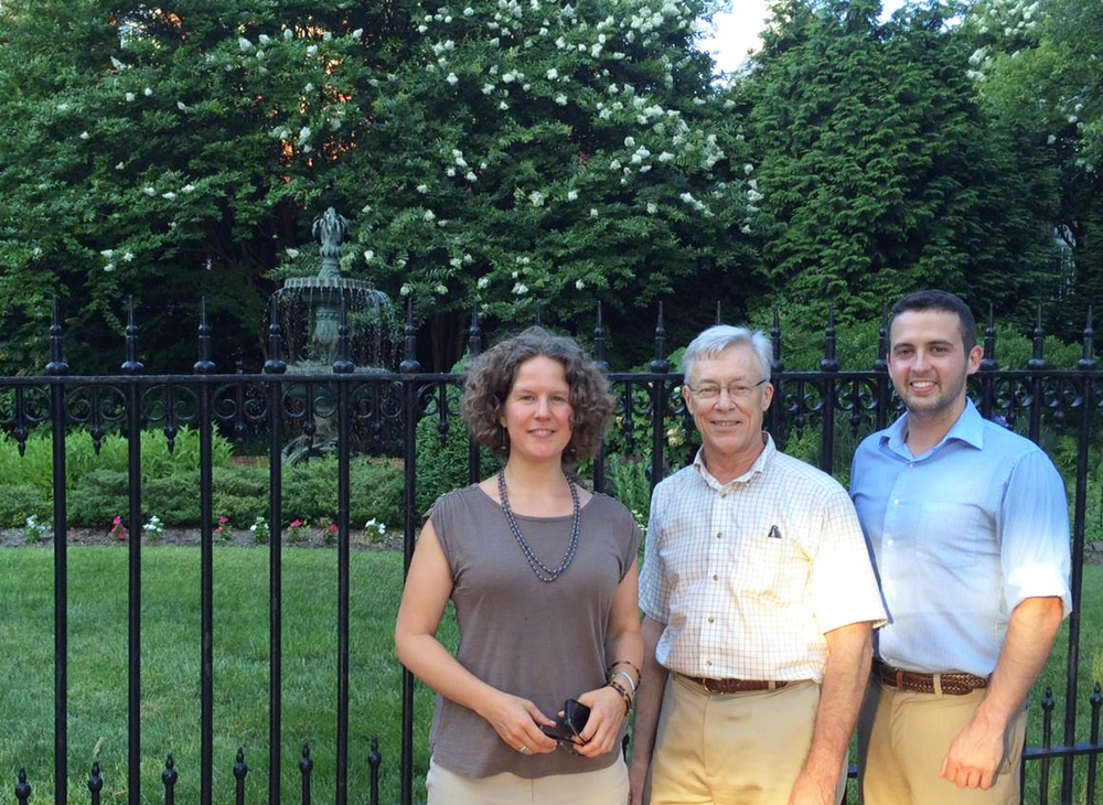 2014-  Graham Landscape Architecture's 30th Anniversary @ the Governor's House project
