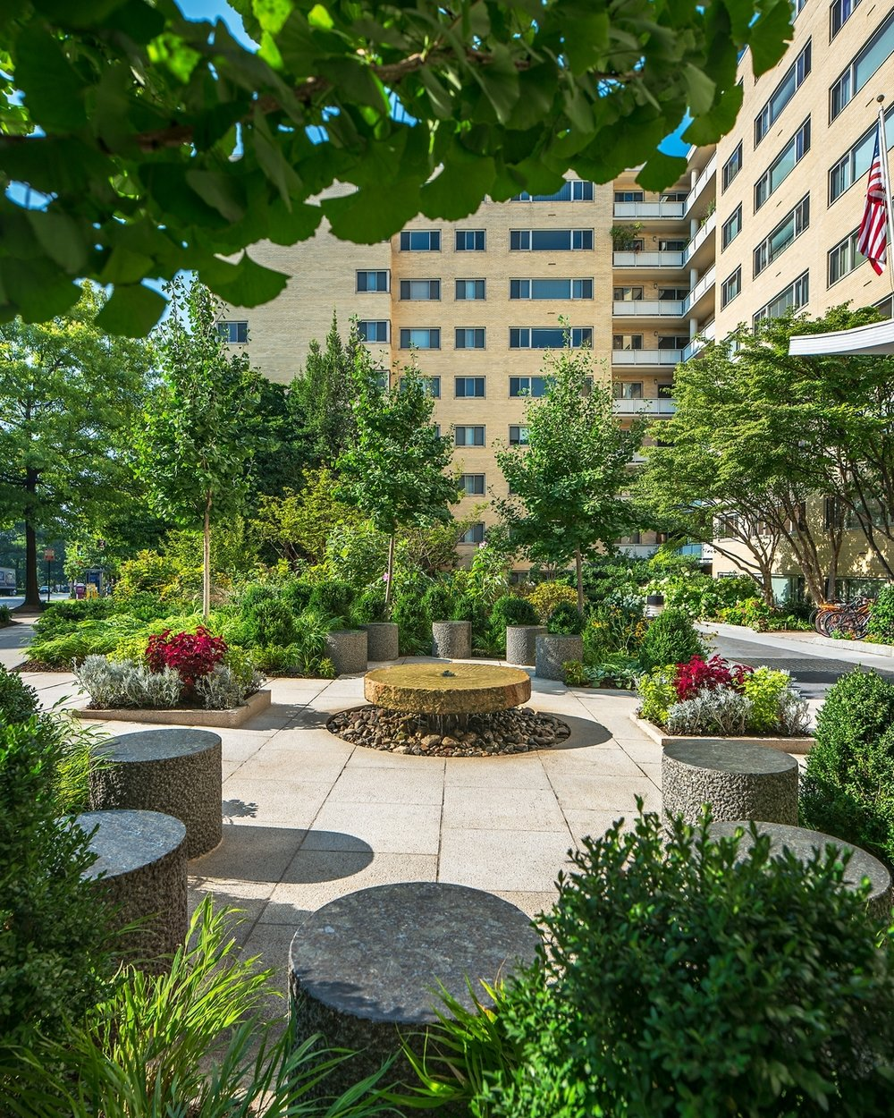 Landscape Architecture Photographs - Washington DC, Maryland, MD, Virginia, VA