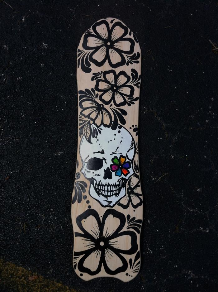 Skull flower (2014)