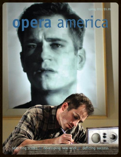 Baritone Matthew Worth in Virginia Opera production of Orphée © David Beloff
