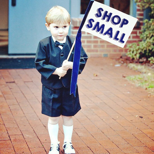 Don't forget to shop small today!!