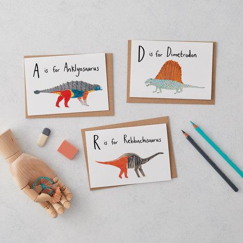 James barker a z dinosaurs greeting cards a z dinosaurs greeting cards m4hsunfo