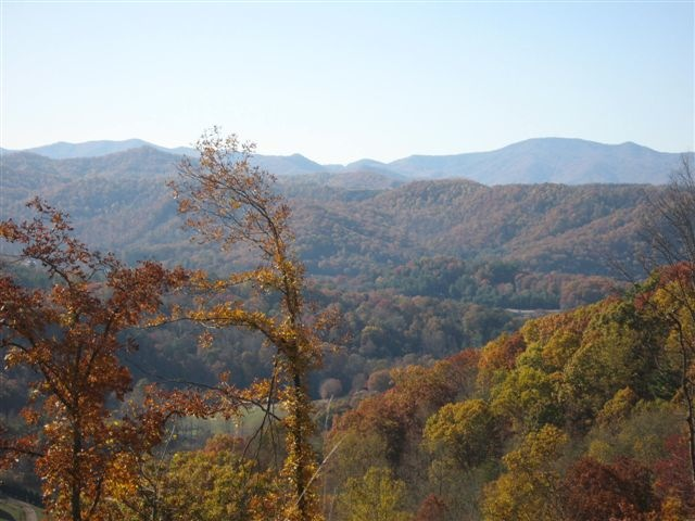 Fall in Cullowhee