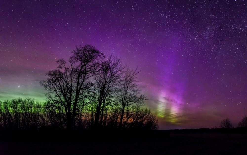 """Aurora Borealis in Estonia"" by Kristian Pikner, licensed under CC BY-SA 4.0."