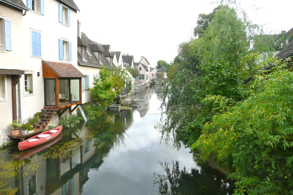 The Eure River, France. Photo taken by reader Annie Mannering who spent some time in Paris last fall.