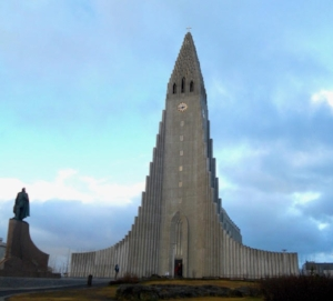 June 2017 where in the world - Hallgrimskirkja in Reykjavik, Iceland