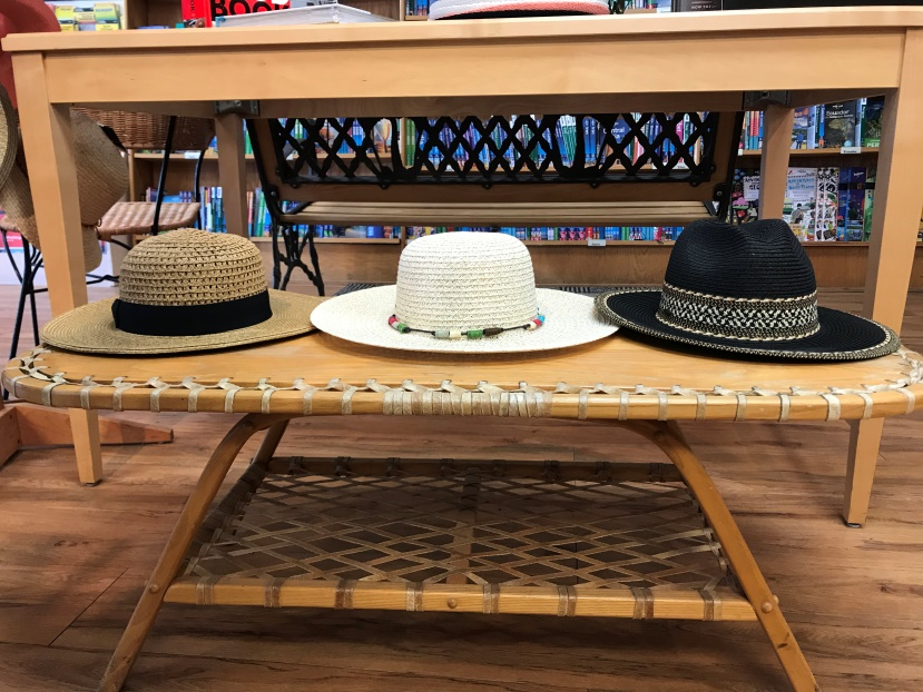 SUN HATS - Brand new to the store this month are gorgeous hats and scarfs from various brands that will assure you're both stylish and protected by the sun whether you are traveling to a sunshine destination or sticking around in sunny Boulder.