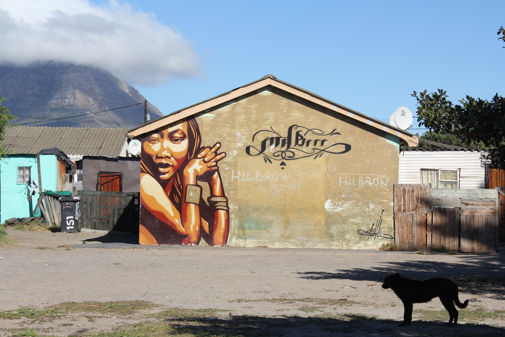 House painting in Langa