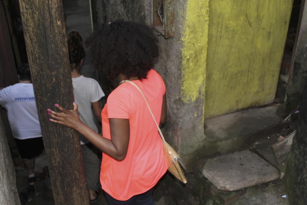 Me in Rocinha