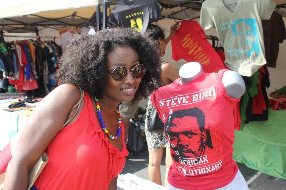 Me at AfroPunk Festival 2012
