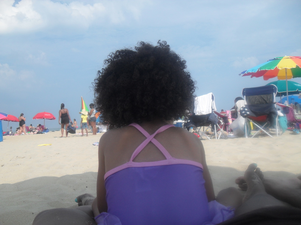 My daughter in Ocean City, Maryland