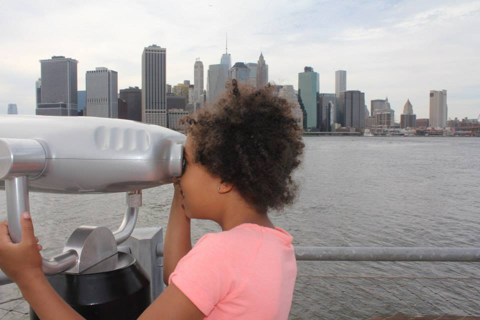 My daughter in Brooklyn