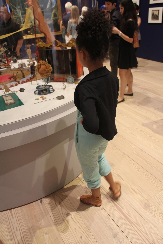 My mini, exploring the Whitney