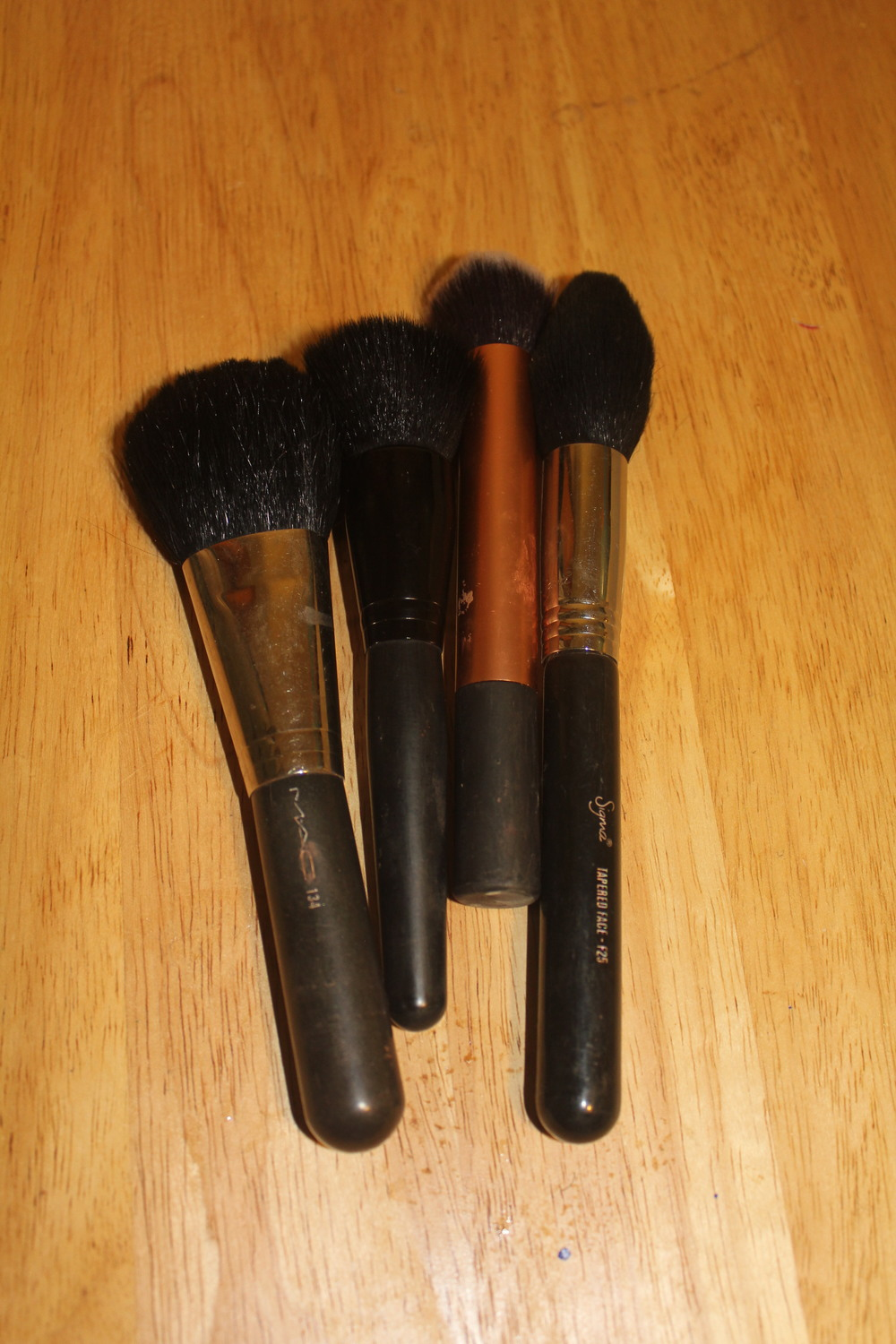 Face Brushes from MAC, SIgma and Real Techniques