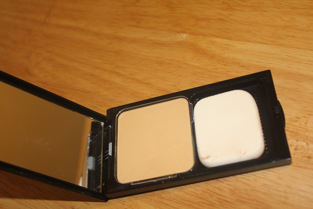 Sacha Cosmetics buttercup pressed powder