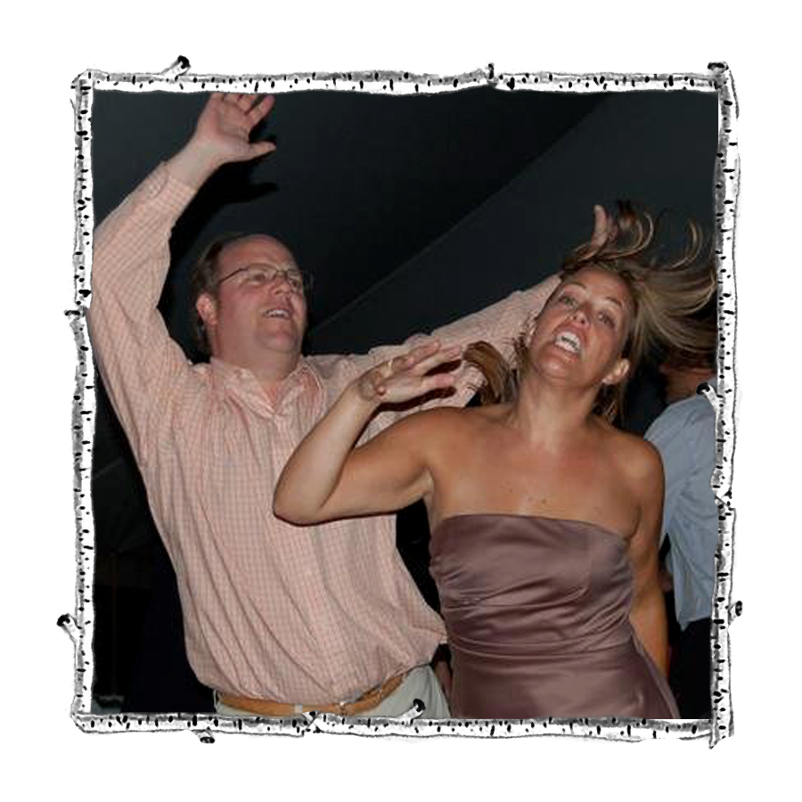 Dancing with my brother JP